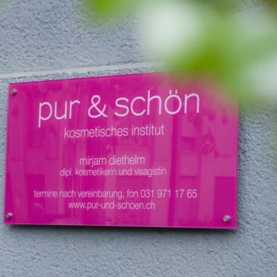 pur & schön - gallerie - studio aussen